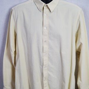 Ted Baker Long Sleeve Button Front Corduroy Shirt